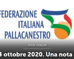 STAGIONE 2020-2021 : DPCM 24 OTTOBRE